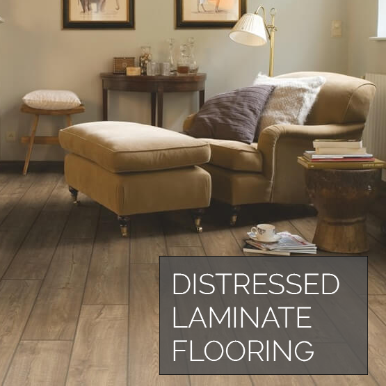 Shop Distressed and Handscraped Laminate Flooring Now