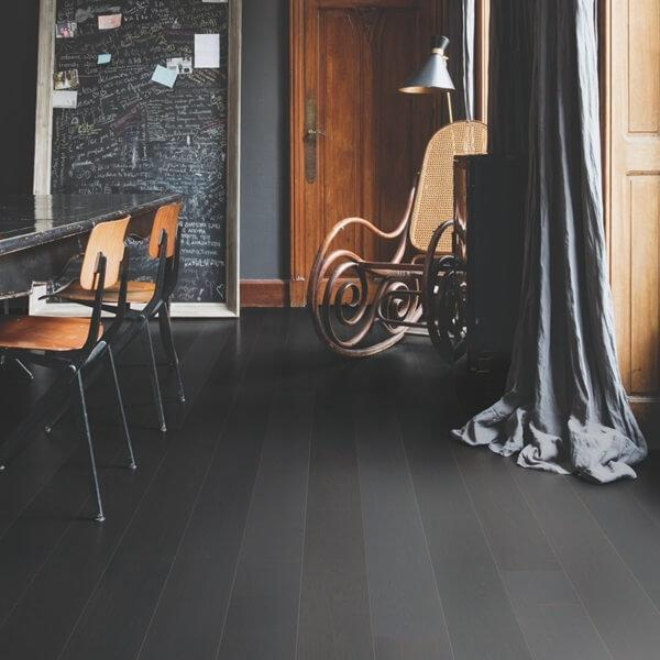 Black & Dark Engineered Wood Flooring