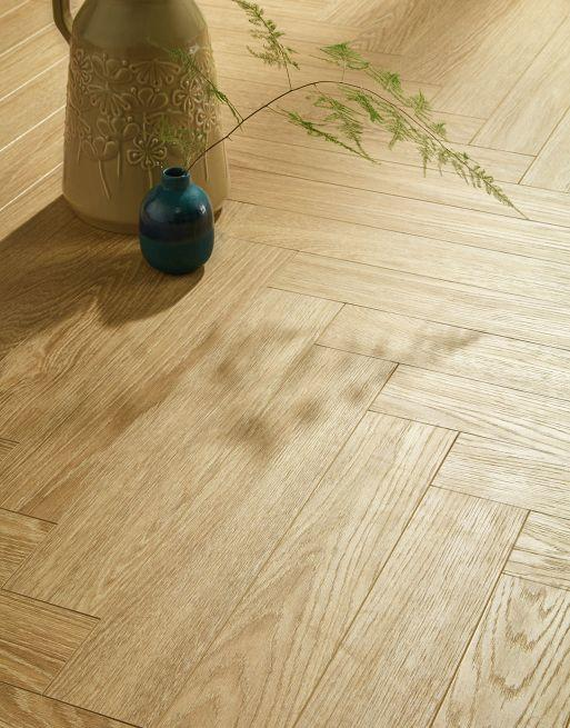 Berry Alloc Chateau Charme Light Natural Parquet Herringbone Laminate Flooring