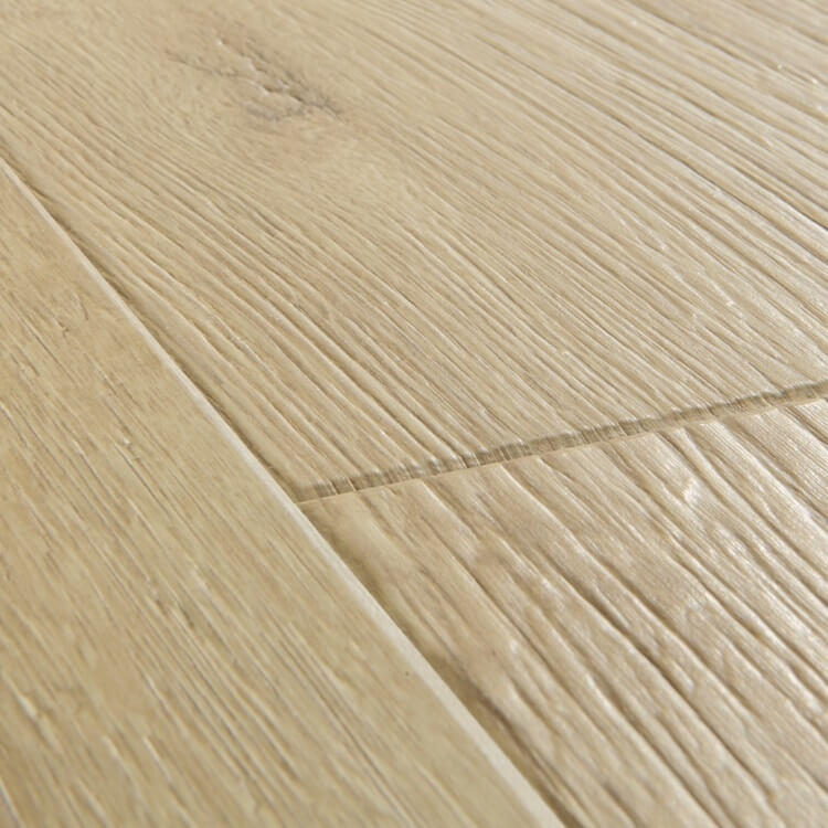 Quick-Step Impressive Sandblasted Oak Natural IM1853 8mm Laminate Flooring