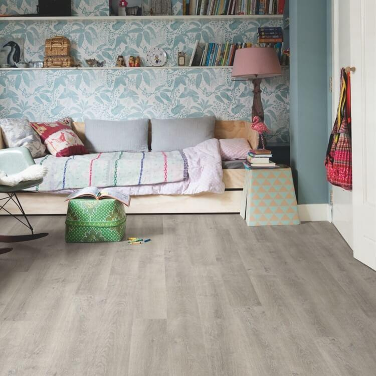 Quick Step Eligna Venice Oak Grey Planks EL3906 Hydroseal Laminate Flooring