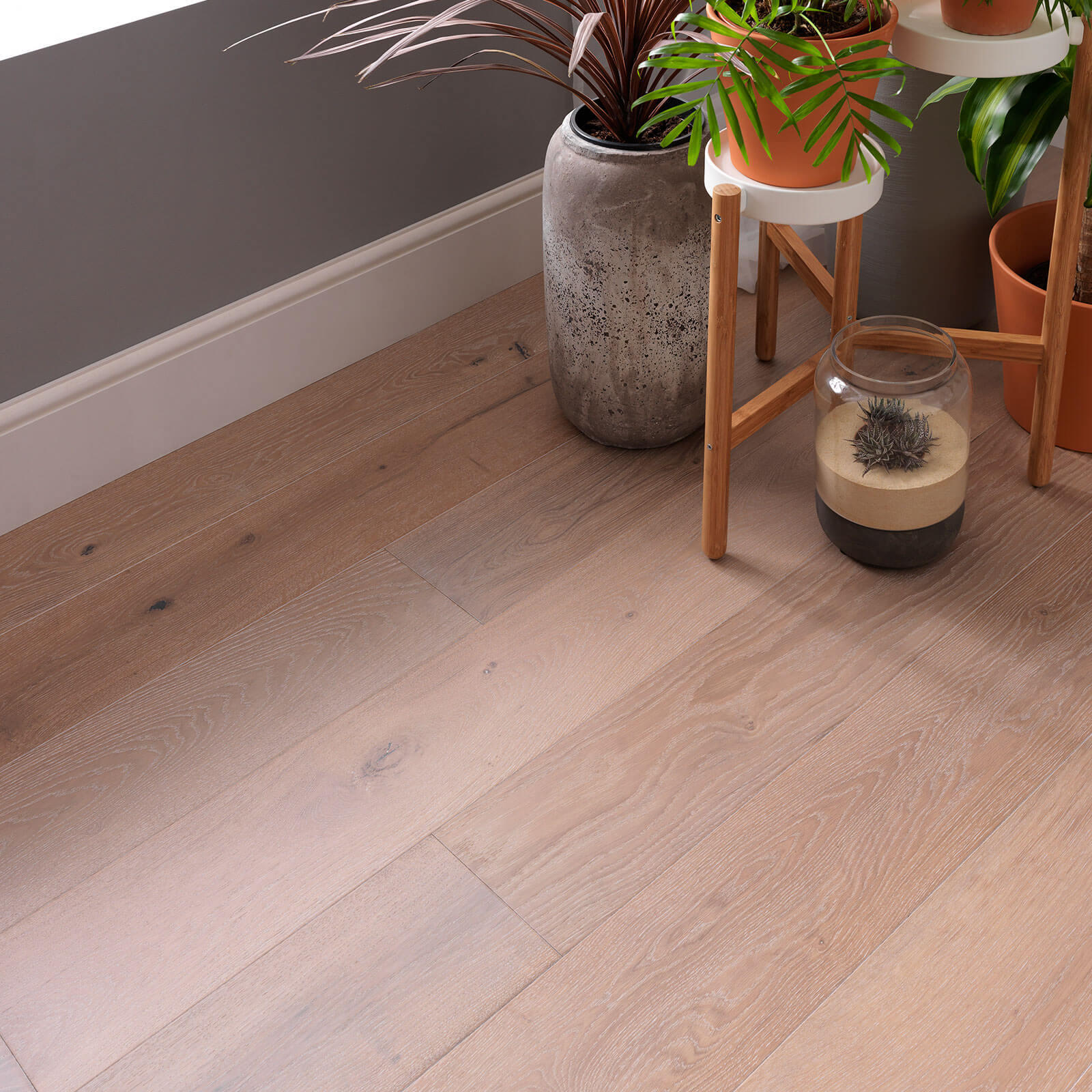 Woodpecker Salcombe Seashore Oak Brushed & Matt Lacquered 45-WDG-013 Engineered Wood Flooring
