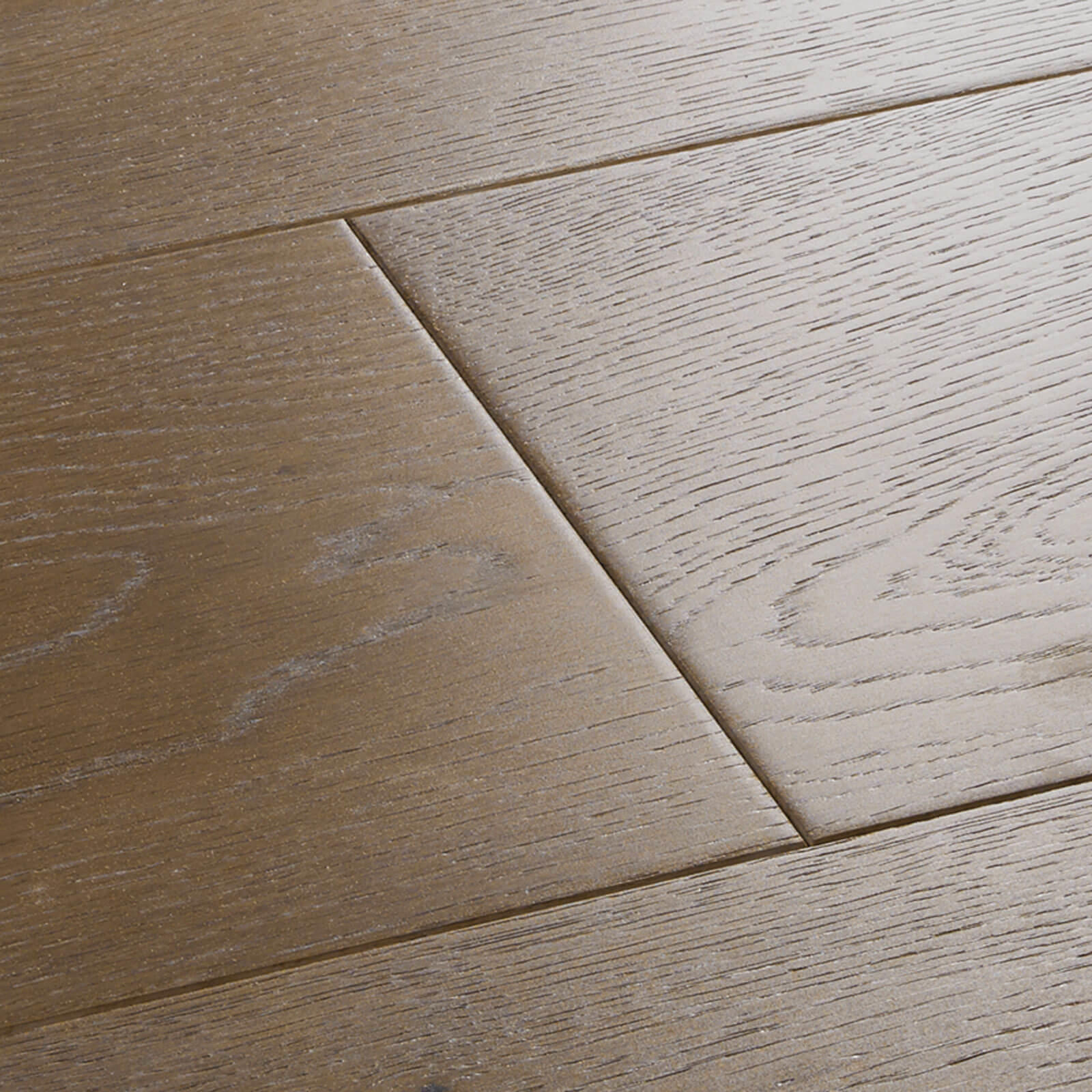 Woodpecker Salcombe Moonbeam Oak Brushed & Matt Lacquered 45-WAB-014 Engineered Wood Flooring