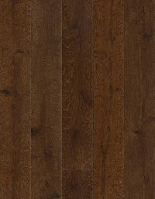 Baelea Holt Wykeham Oak Brushed & Matt Lacquered 180mm Wide Engineered Wood Flooring