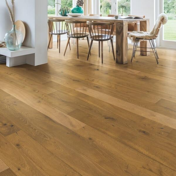 Quick-Step Barrel Brown Oak Oiled Engineered Realwood Flooring CAS3897S