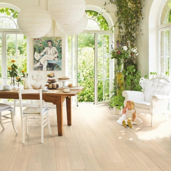 Quick-Step Palazzo Polar Oak Matt Lacquered Engineered Realwood Flooring PAL1340S