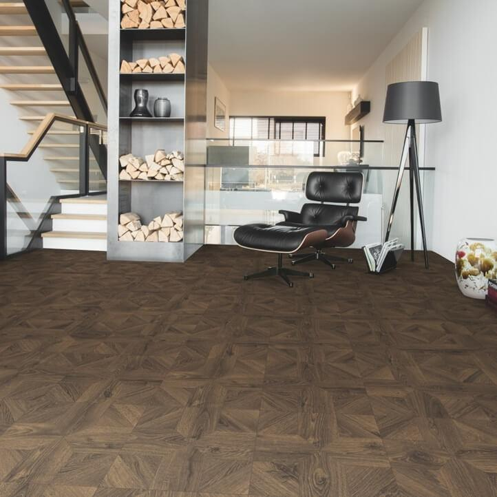 Quick-Step Impressive Patterns Royal Oak Dark Brown IMA4145 8mm Laminate Flooring