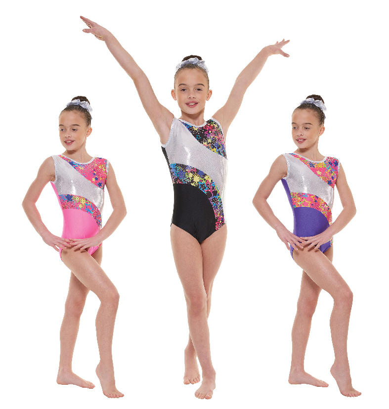 587564bbc Lycra and Foil Leotard Tappers   Pointers Gym 43
