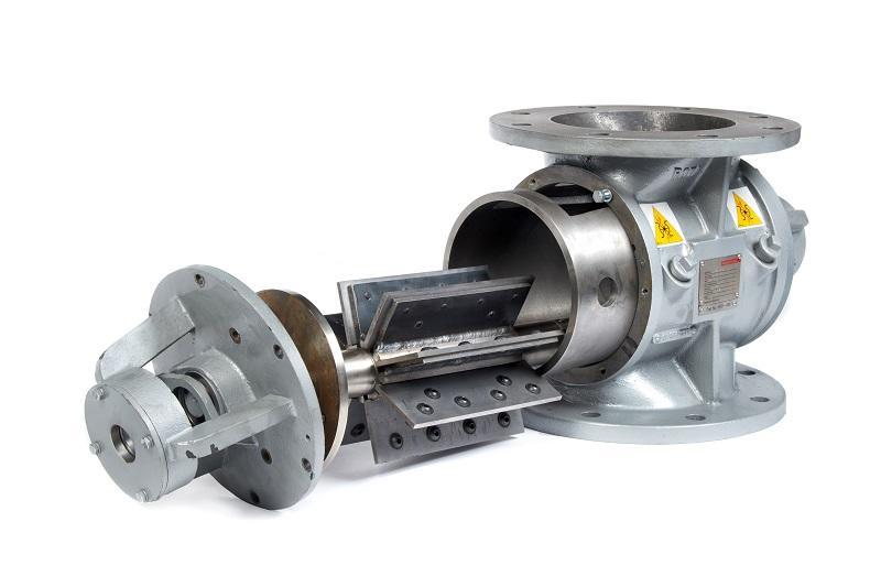 Rotary Air Valve : Extra heavy duty rotary valve ehd