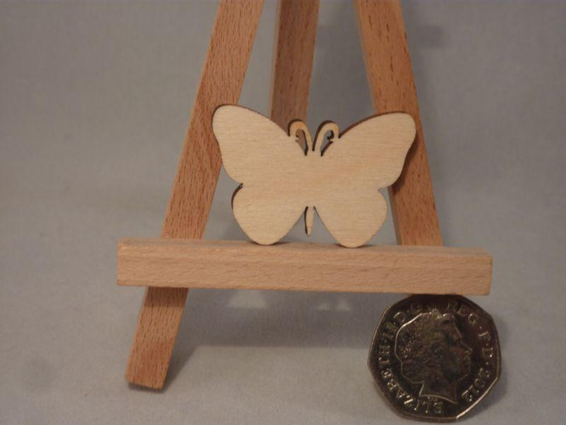 4 mm Plywood Butterfly Blank - 4 cm