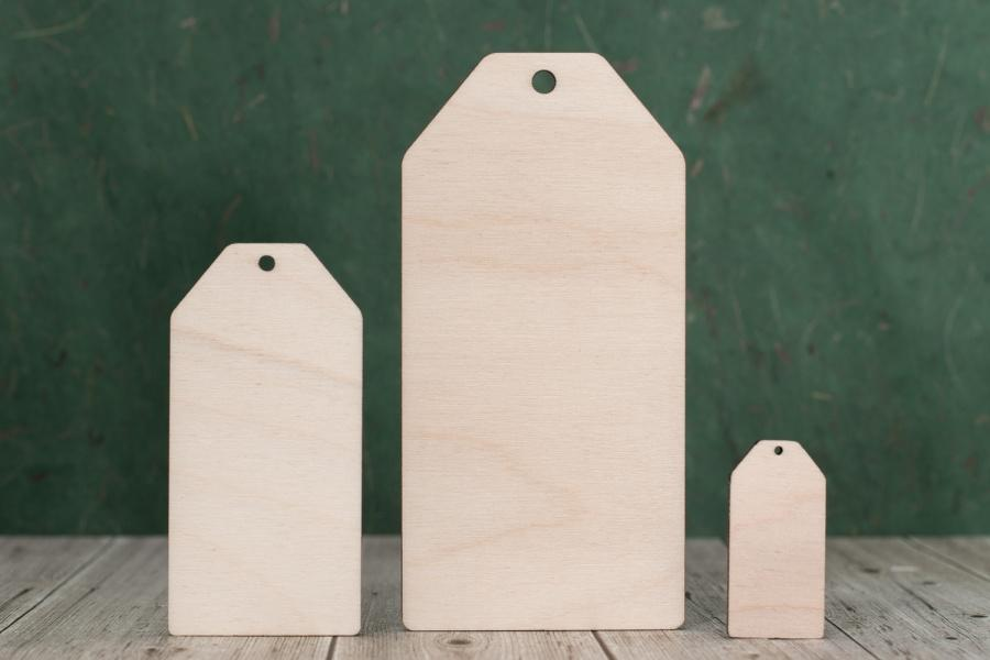 Plywood Wooden Luggage Shape