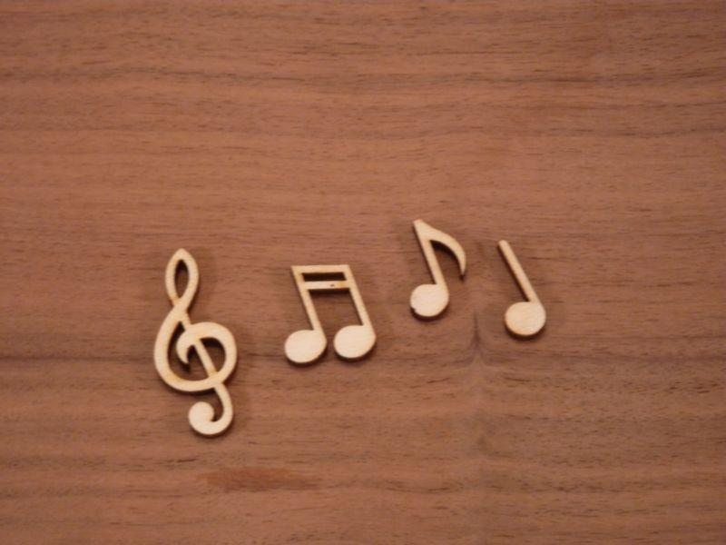 Plywood Choral Music Notes - 3.7 cm