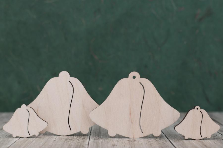 4mm Plywood double bell shapes