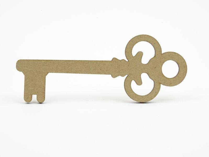 3mm MDF Key shape - 15 cm