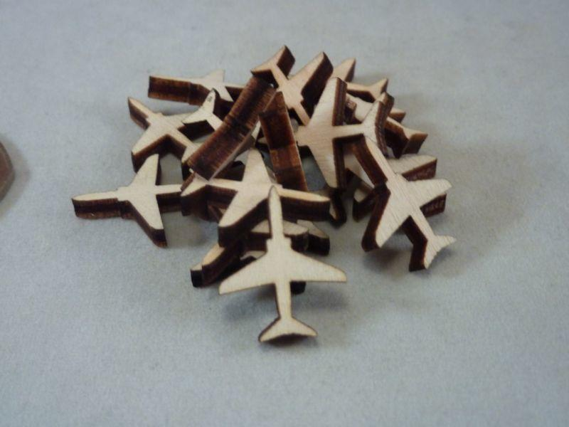 Plywood Jet Plane Craft Blank - 2 cm