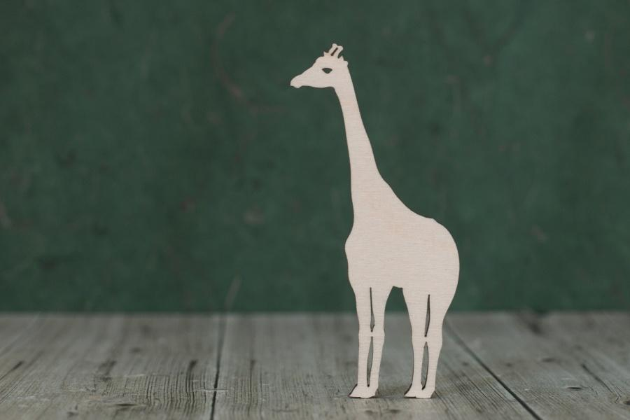 4 mm Plywood Giraffe Shape