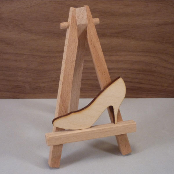 4 mm Plywood High Heel Shape