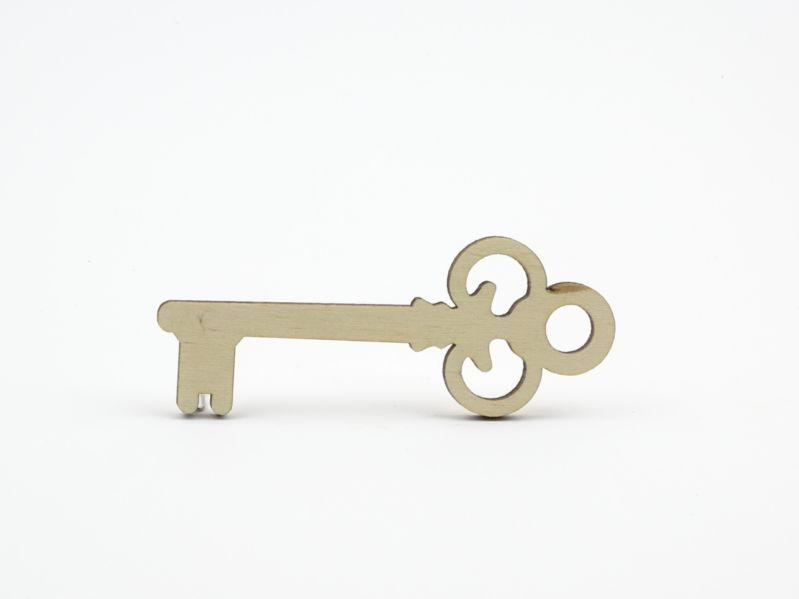 Plywood Key Shape - 9 cm