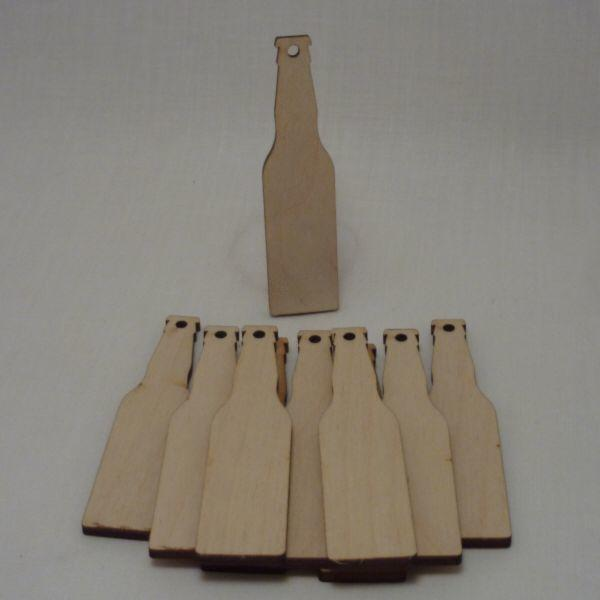 4 mm Plywood Beer Bottles with hanging hole