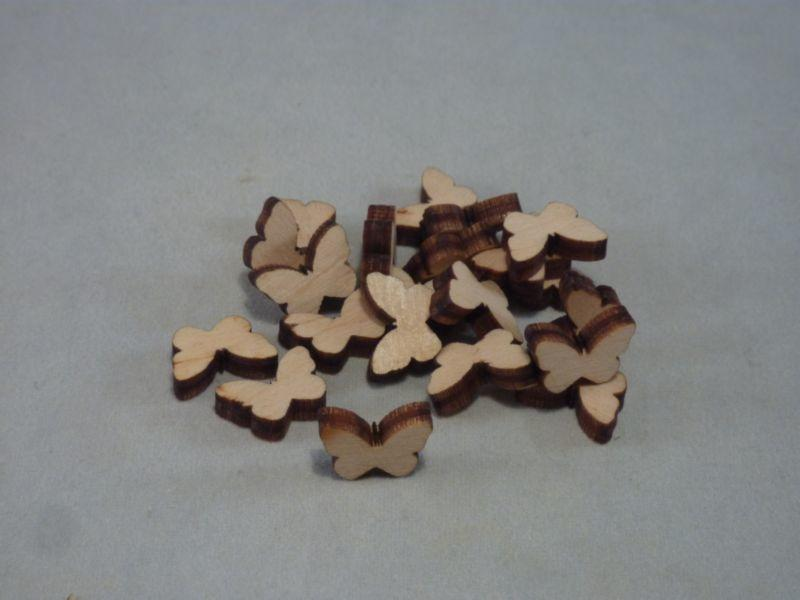 4 mm Plywood Butterfly Blanks - mini