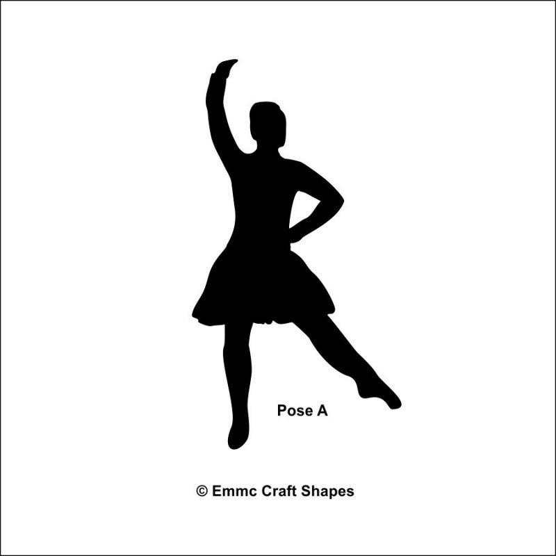 Plywood Highland Dancers - Pose B