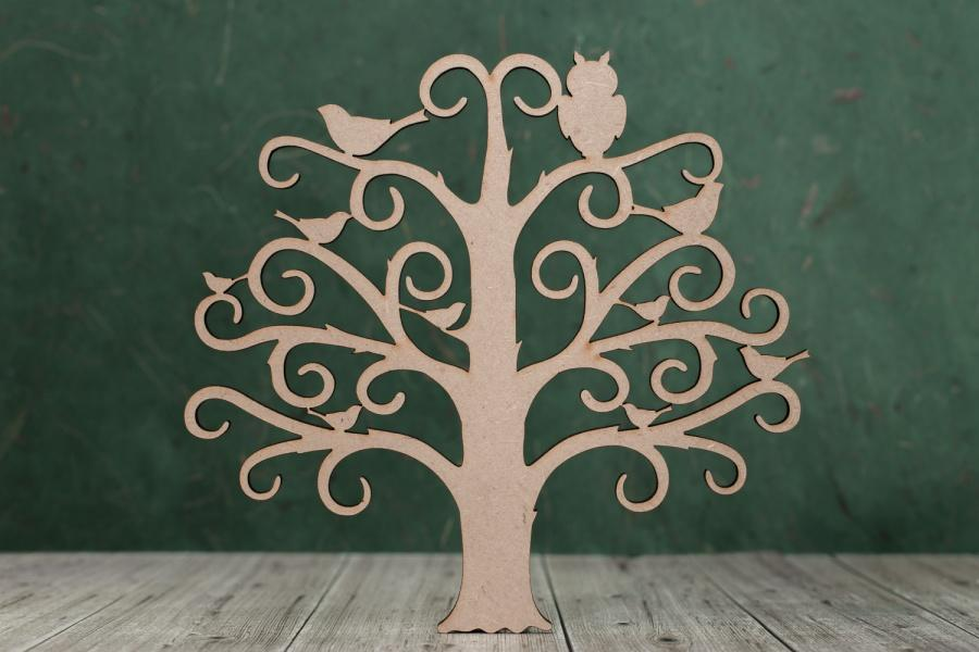 3 mm MDF Family Tree