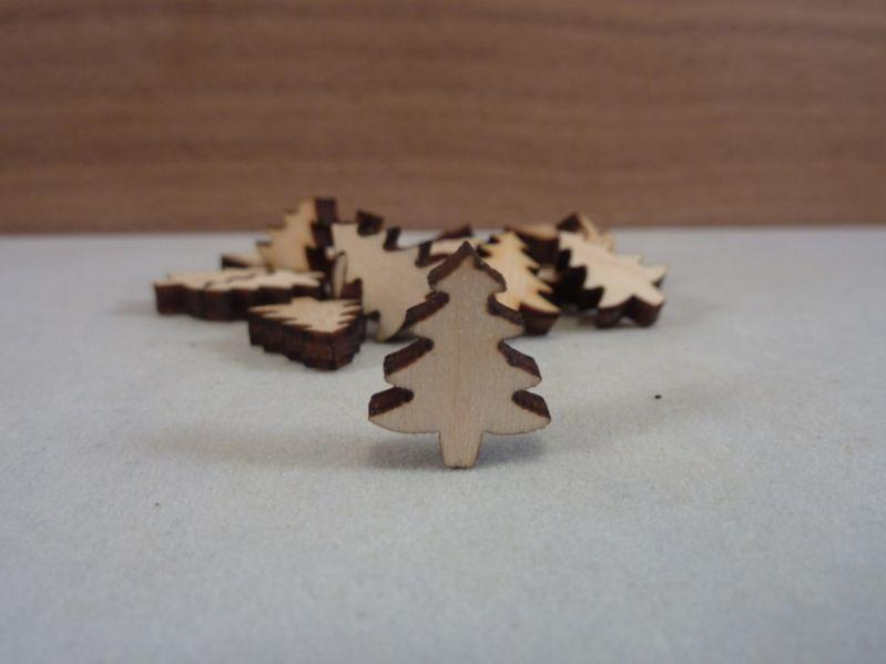3 mm MDF Christmas Tree Shapes