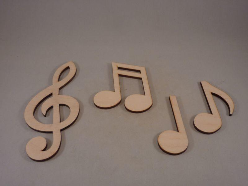 Plywood Choral Music Notes - 15 cm