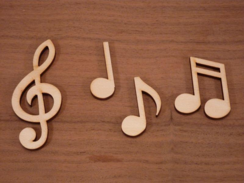 Plywood Choral Music Notes - 8 cm
