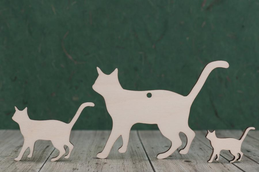 Plywood Cat Blank Cut Outs