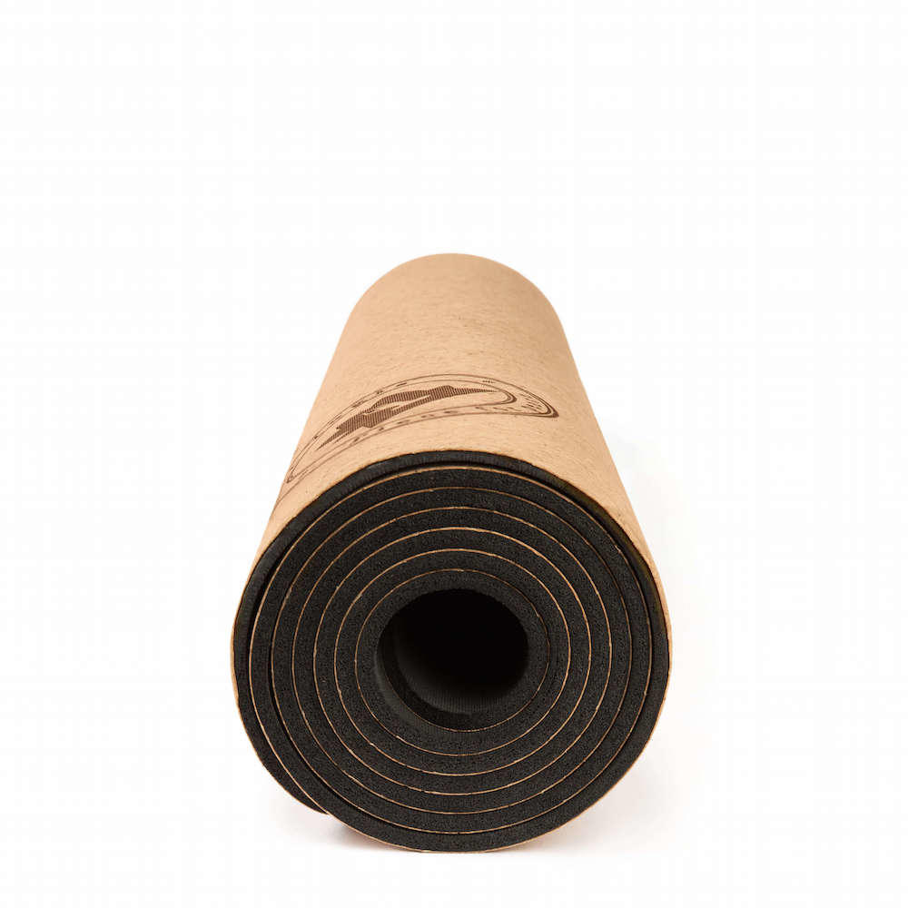 Premium Thick Cork Yoga Mat Eco Amp Non Slip Wearth