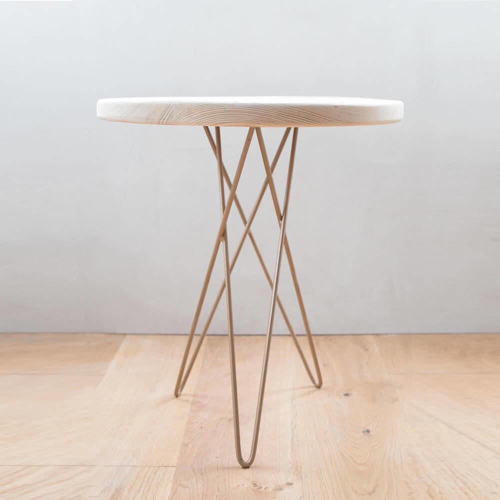Made Anew - Hairpin Leg Round Side Table 5