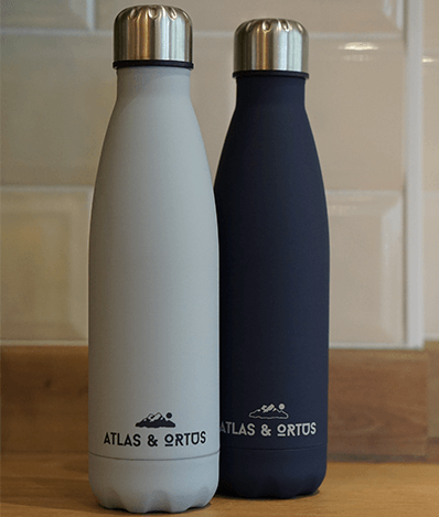 Grey & Navy Bottle