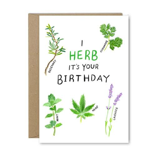 I Herb It's Your Birthday