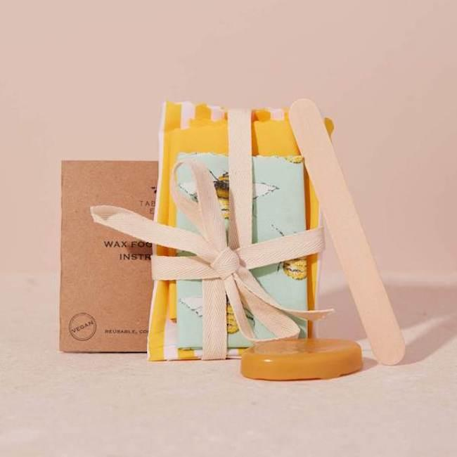 This Vegan Friendly Wax Food Wrap Sets Makes For A Great Green Gift Idea Those That Love Making Their Own DIY Products The Kit Contains Everything You