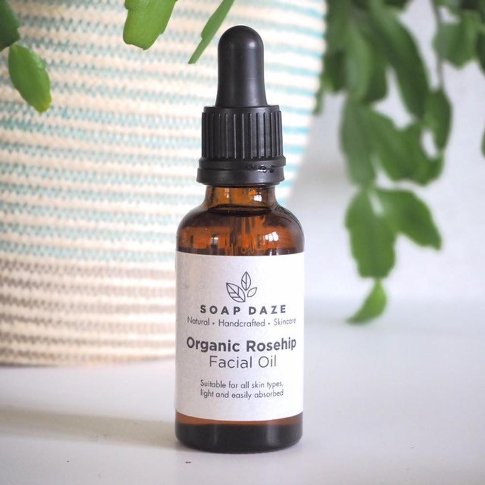 Organic Rosehip Seed Face Oil - Vegan & Handmade in Devon, UK | Wearth