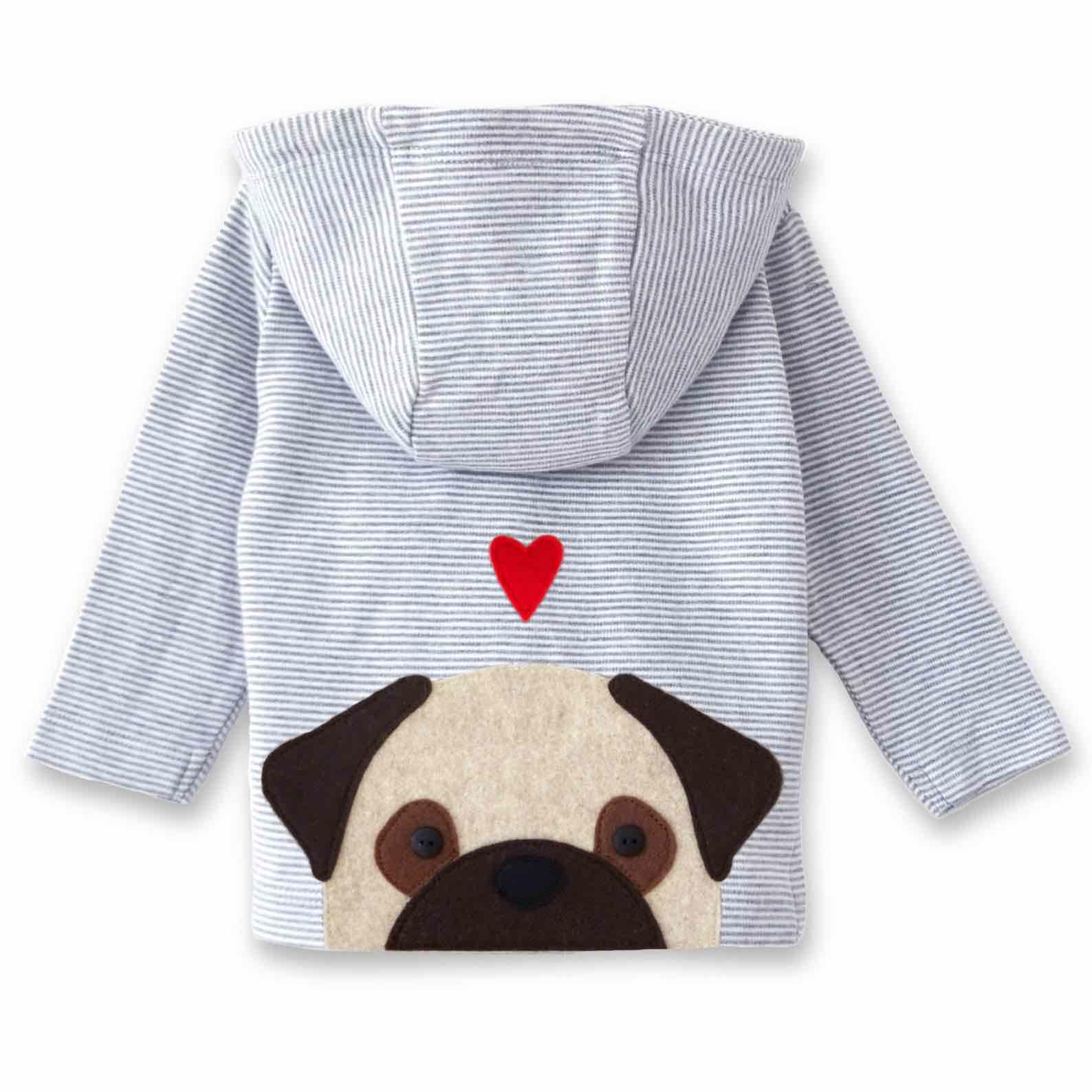 Pug Baby Jacket