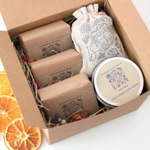 Pamper Soap Gift Box