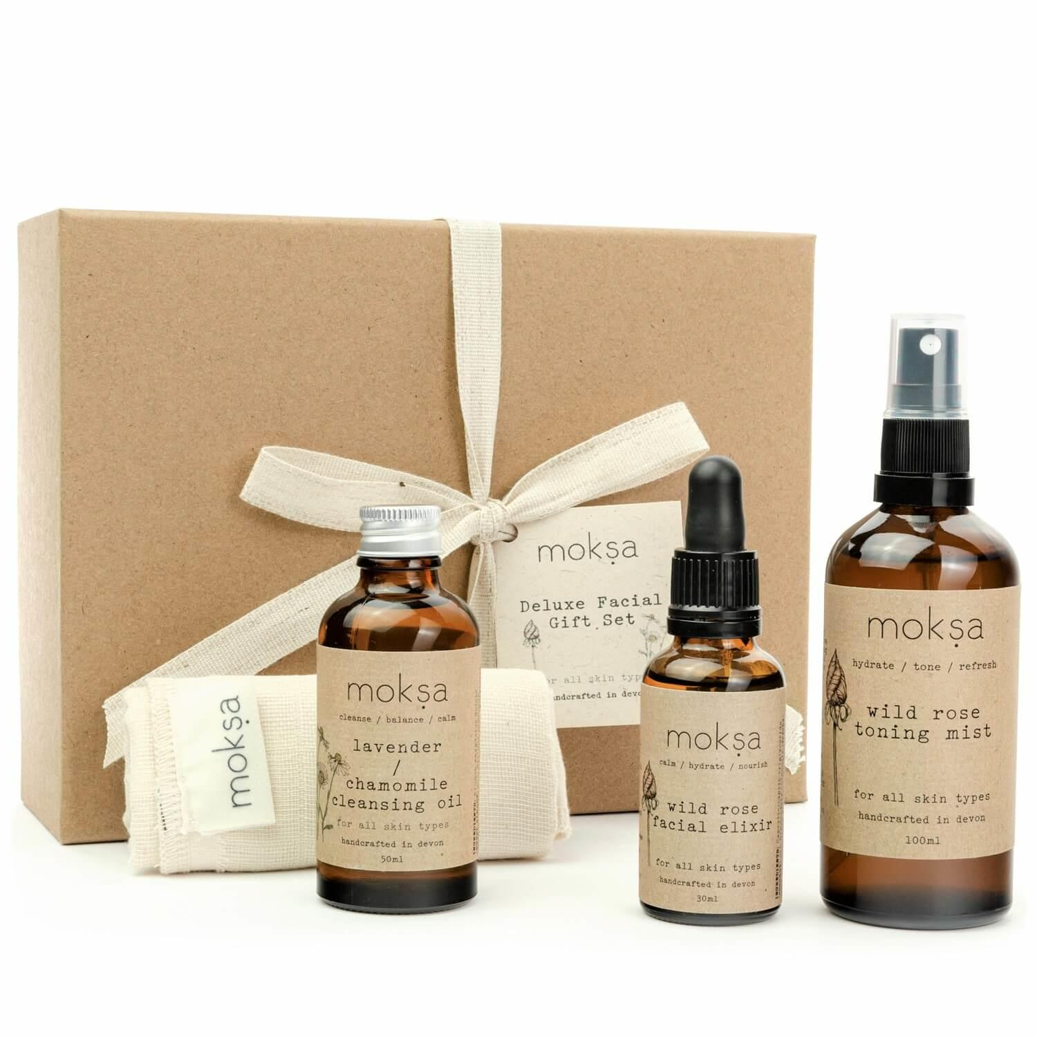 Deluxe Facial Gift Set - Inside