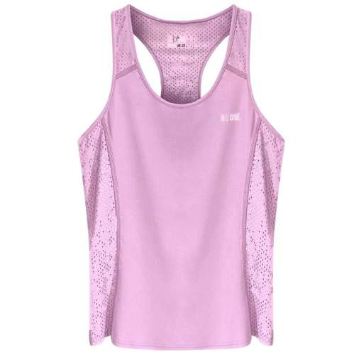 Pink Recycled Fabric Sports Vest