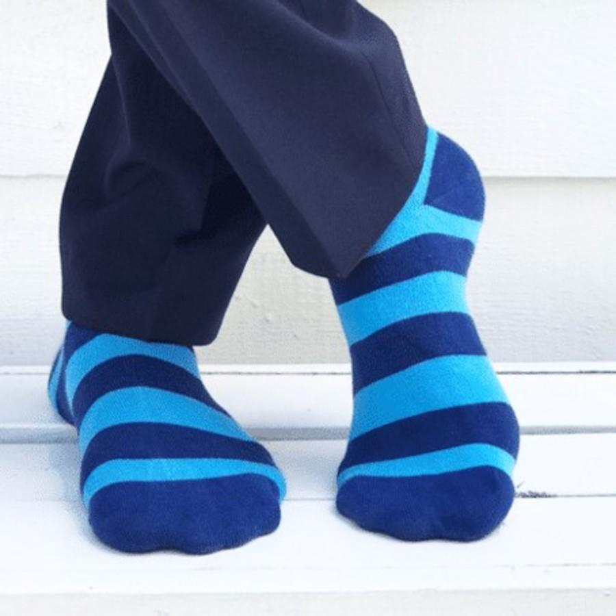 Striped Bamboo Socks