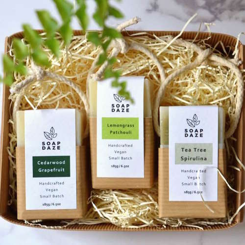 Soap Daze - Soap-On-A-Rope Trio Set 1