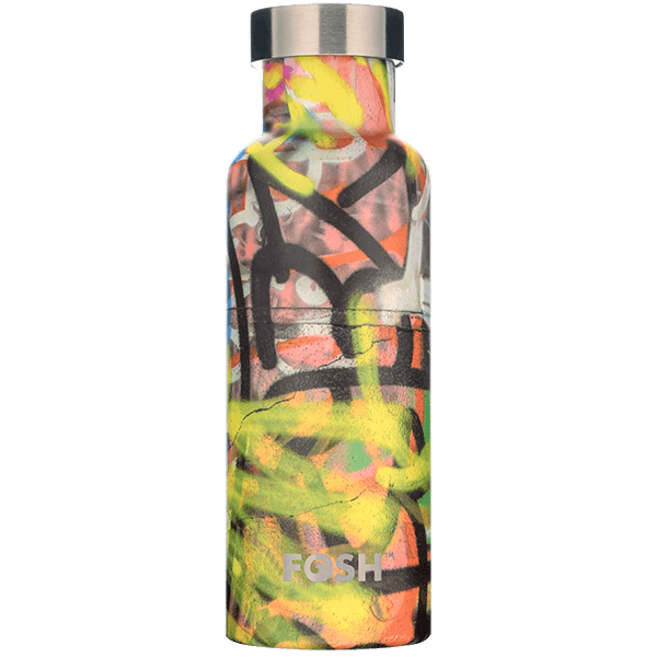 Graffiti Triple Insulated Bottle - 550ml