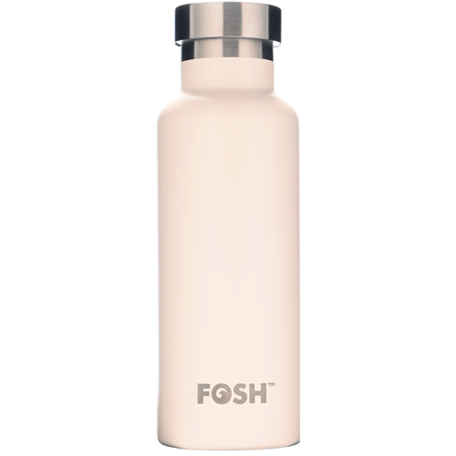 Ice Cream White Triple Insulated Bottle - 550ml