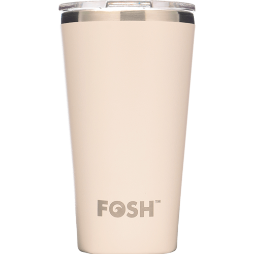 Ice Cream White Travel Mug - 454ml