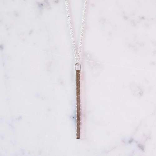 Hanging Bar Necklace