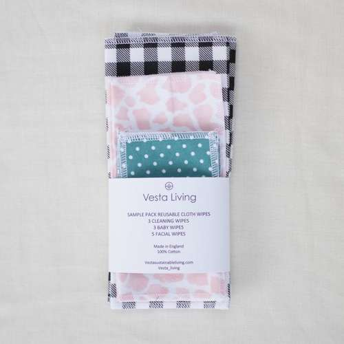 Cotton Wipes Sample Set