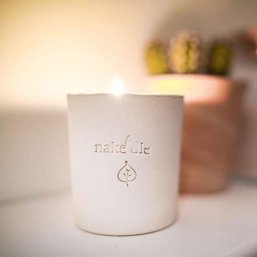 Hibiscus Natural Wax Candle