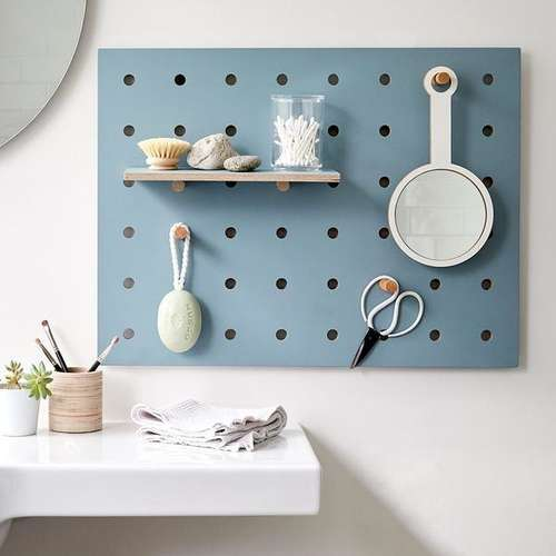 Kreis Design - Peg-it-all Little Pegboard Blue