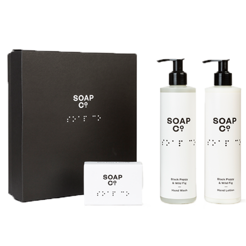 The Soap Co. - Gift Box Trio with Bar Soap 1
